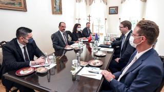 Cumhurbaşkanlığı Sözcüsü Kalın ve AB Komisyonu Kabine Şefi Seibert görüştü