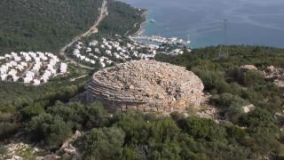 Tarihi Leleg Yolu turizme kazandırıldı