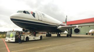 Libya Cumhurbaşkanlığı uçağı 7 yıl sonra Trablus'ta
