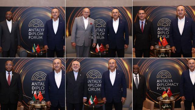 Dışişleri Bakanı Çavuşoğlunun yoğun diplomasi trafiği