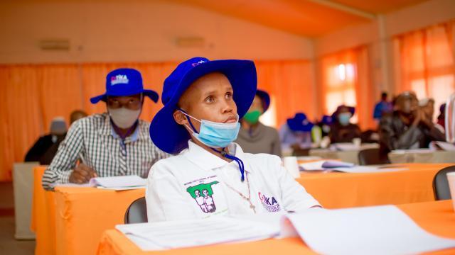 TİKA, Namibyada gençlere tarım eğitimi verdi
