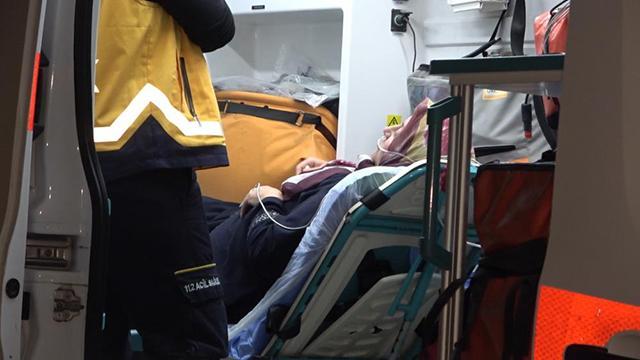 Kırıkkalede yangın: Biri bebek 4 kişi hastaneye kaldırıldı