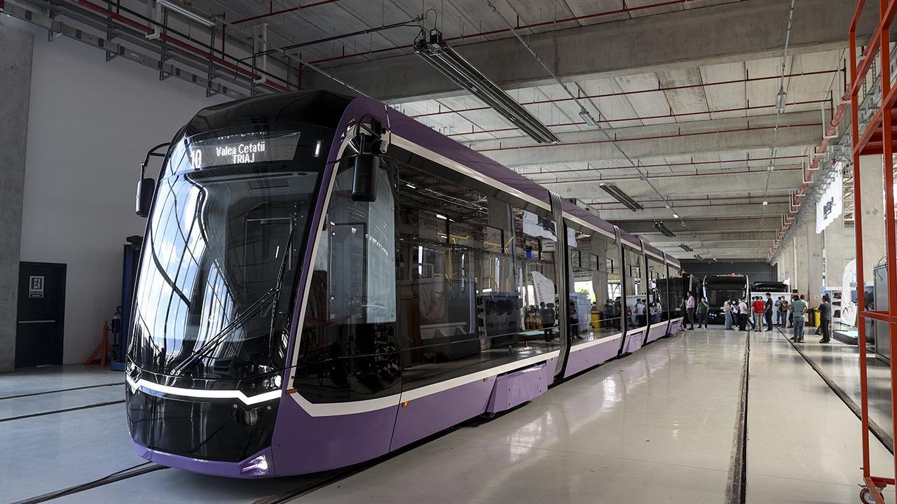 Yerli tramvay testi geçti