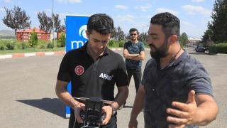 Bingöl'de AFAD ekipleri, arama kurtarma ve afet durumunda drone ile daha etkin olacak