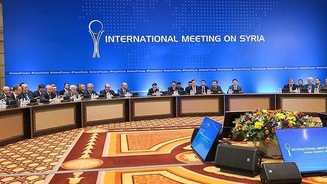 16. Astana görüşmeleri Kazakistanda yapılacak