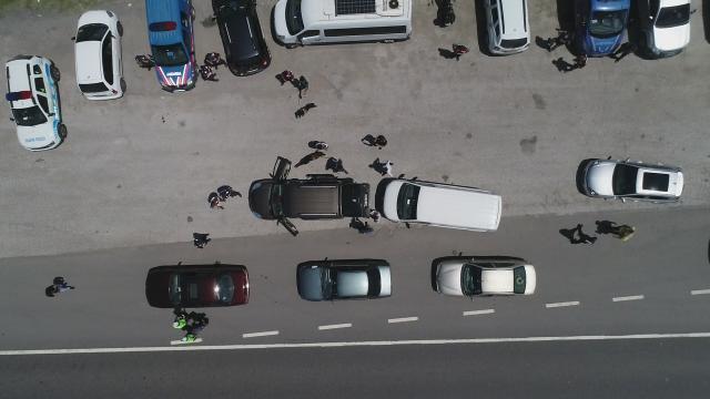 """Düzcede drone destekli """"Huzurlu Sokaklar ve Narkotik Suçları Uygulaması"""" yapıldı"""