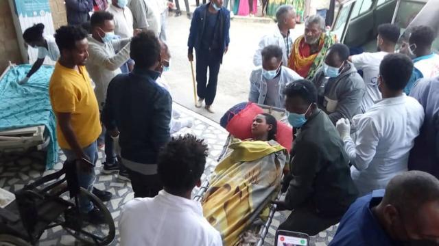 Etiyopyada pazar yerine hava saldırısı düzenlendi