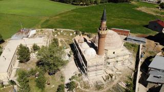 Tarihi Ferahşad Bey Camii'ndeki restorasyonda hedef yıl sonu