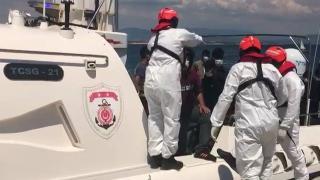 Ege'de 100 düzensiz göçmen kurtarıldı
