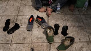 ABD'deki kampta göçmen çocuklar zor koşullarda yaşamaya çalışıyor
