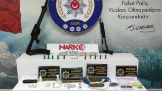 Hatay'da uyuşturucu operasyonunda 5 şüpheli yakalandı