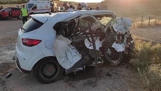 Siirt'te polis memuru trafik kazasında hayatını kaybetti