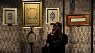 Türk-İslam sanatı eserleri sergisi ziyarete açıldı