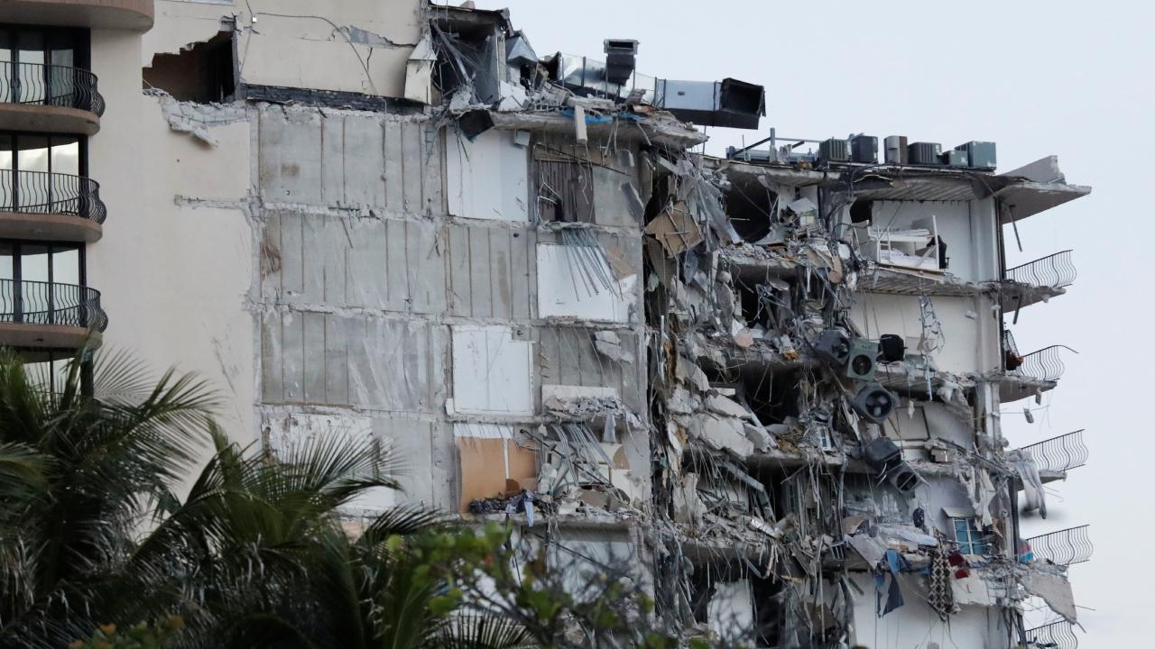 ABD'nin Florida eyaletinde çok katlı binada çökme
