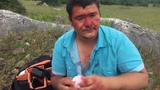 Lütfü Türkkan'ın çiftliğinin yıkımını görüntüleyen İHA muhabirine saldırı