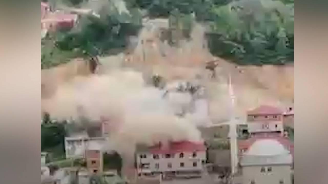 Kontrollü patlatma hasara neden oldu