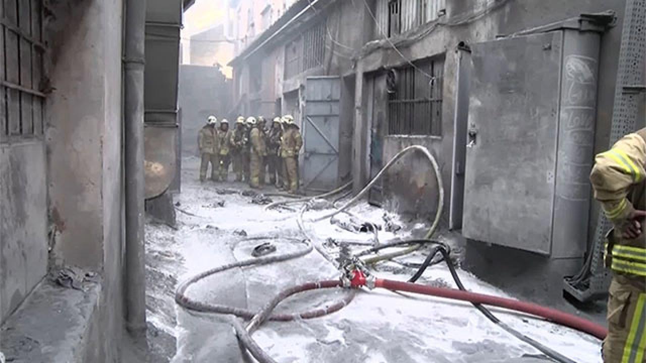 Bayrampaşa'da iş yerinde patlama: 3 yaralı
