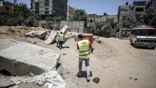 TİKA'dan Gazze'ye yardım eli