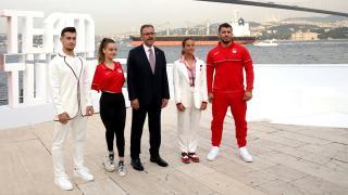 """""""Tokyo 2020 Team Türkiye Koleksiyonu"""" tanıtıldı"""