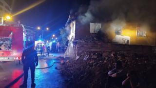 Konya'da ev yangını: 3 çocuk hayatını kaybetti