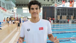 Milli yüzücü Yiğit Aslan'dan olimpiyat kotası