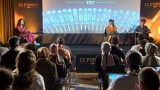 Dünya sinemasının ustaları 12 Punto TRT Senaryo Günleri'nde gençlerle buluştu