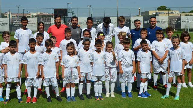 Real Madridin yeni yıldızları Antalyada yetişecek