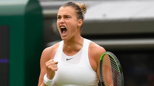Wimbledonın açılış maçı Sabalenkanın