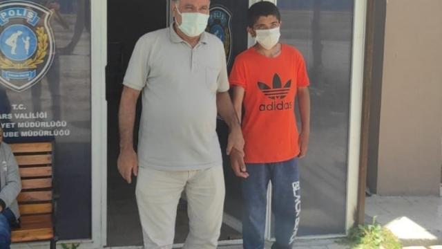 Karsta kaybolan 15 yaşındaki çocuk bulundu