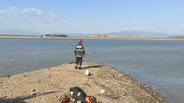 Baraj gölünde kaybolan kadın aranıyor