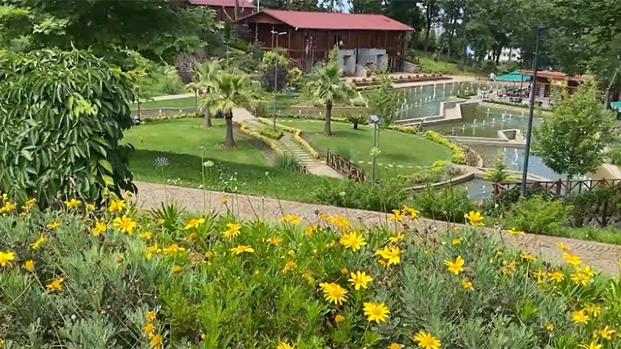 Trabzon Botanik Parkı 500 türde 20 bin bitkiye ev sahipliği yapıyor