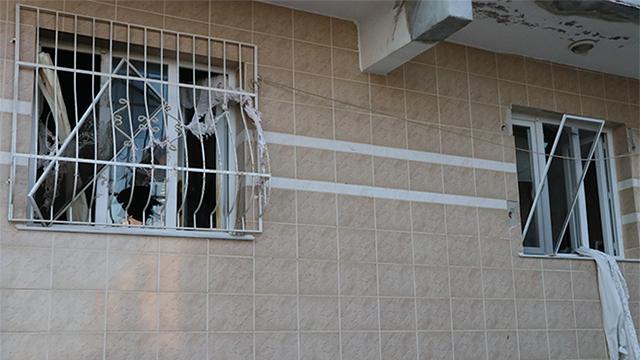 İzmirde bir evde patlama: 5 yaralı