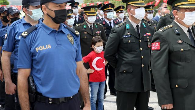 Atatürkün Sivasa gelişinin 102. yıl dönümü kutlandı