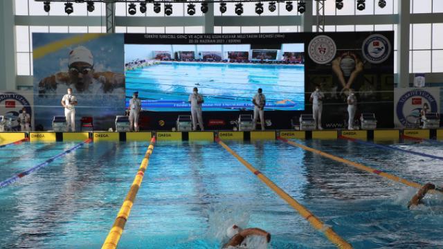 Milli takım seçmelerinde Türkiye rekoru kırıldı