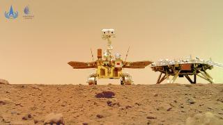 Çin'in uzay aracı Zhurong'un Mars'tan gönderdiği videolar paylaşıldı