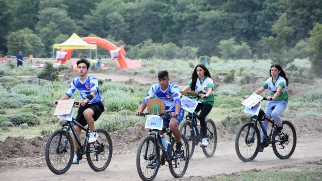 Türkiye Bisikletle Oryantiring Şampiyonası, Aksarayda yapıldı