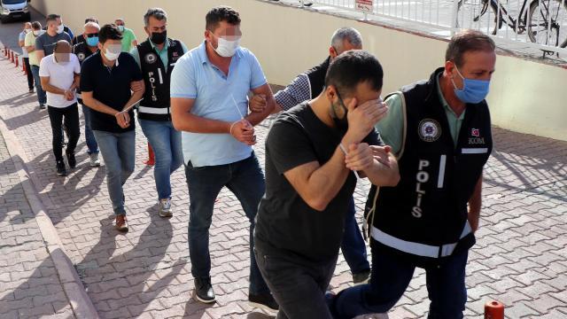 Suç örgütü operasyonunda 6 şüpheli tutuklandı