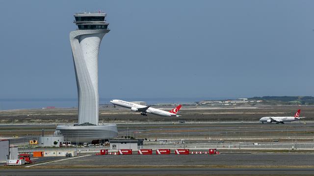 İstanbul Havalimanı sefer sayısıyla Avrupa 2ncisi oldu