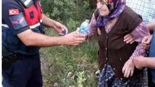 Karabükte kaybolan 87 yaşındaki alzaymır hastası kadını jandarma buldu