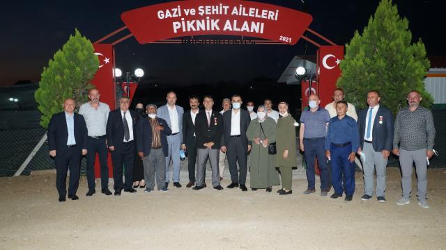 Bahşılıda Gazi ve Şehit Aileleri Parkı açıldı