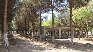Bismil'de Millet Bahçesinin yapımı sürüyor