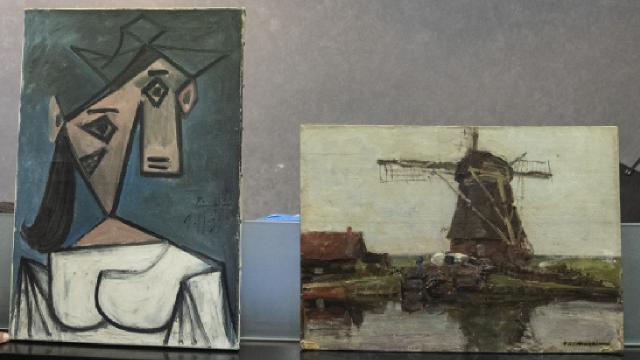 Picassonun çalınan tablosu bulundu