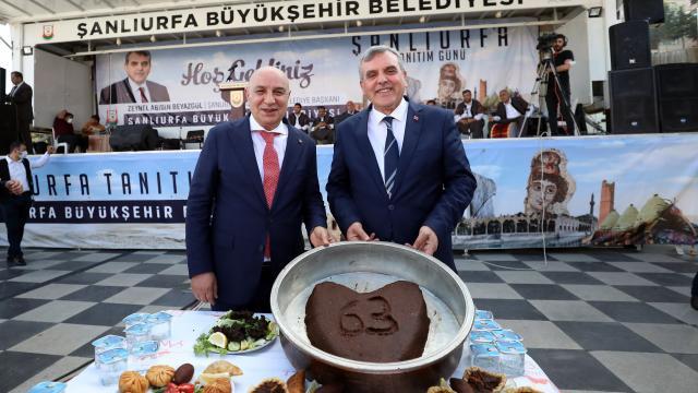 """Ankarada """"Şanlıurfa Tanıtım Günü"""" düzenlendi"""
