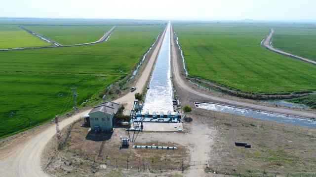 Trakyada bu yıl 695 bin 720 dekar tarım arazisi suyla buluşacak