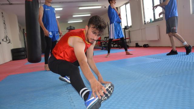 Şırnaklı sporcular, Türkiye Wushu Şampiyonasına hazırlanıyor