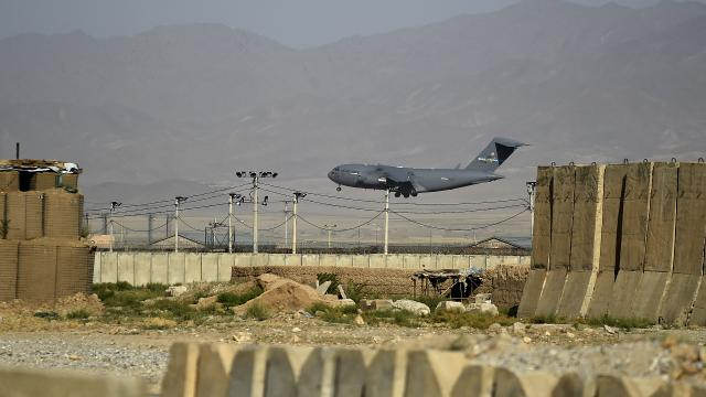 Bagram Hava Üssü boşaltıldı