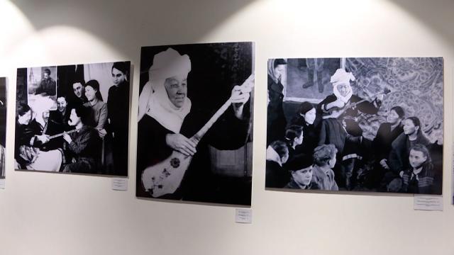 """Kazakistan Milli Müzesinde """"Ulu Bozkırda Dombıra Sesi"""" sergisi"""
