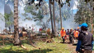 Filipinler'de düşen uçakta ölü sayısı artıyor
