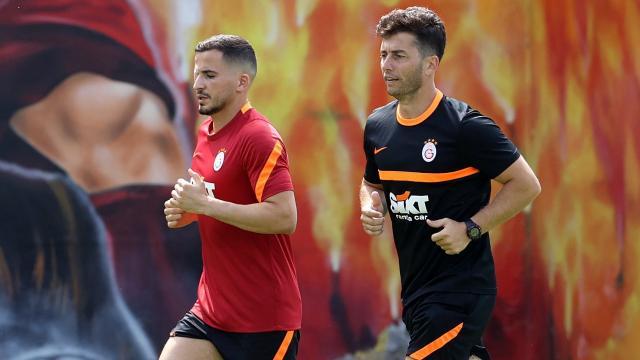 Galatasarayda Omar Elabdellaoui saha çalışmalarına başladı