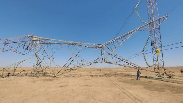 Irakta elektrik hatlarına saldırılar artıyor